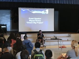 Miguel Uses Personal Tragedy To Educate Students Of Waite Middle School